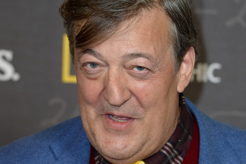 Stephen Fry National Geographic's Premiere Screening of 'Genius' in London - Screening