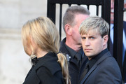 Kian Egan of Westlife attends the funeral of Boyzone singer Stephen Gately at St Laurence O'Toole Church on October 17, 2009 in Dublin, Ireland. The Irish singer was found dead at his holiday home in Palma, Majorca last Saturday. A post-mortem has found the singer suffered a pulmonary oedema.