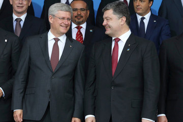 Stephen Harper NATO Summit Wales 2014 - Day 1