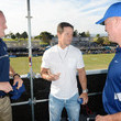 Stephen Jones Mark Wahlberg Attends The Dallas Cowboys Training Camp To Announce Wahlburgers Opening