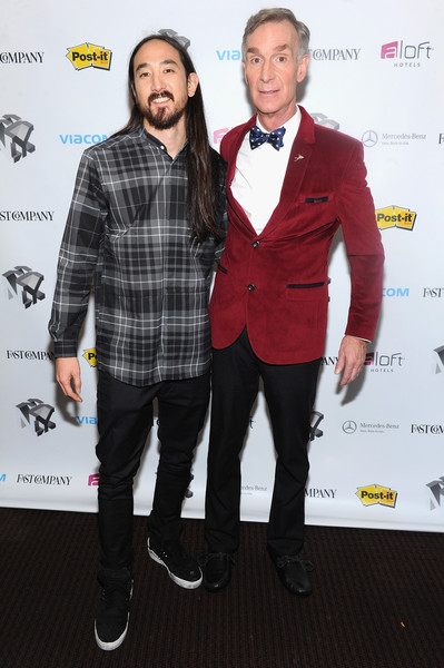 The Fast Company Innovation Festival - How Creativity Fuels Science With Steve Aoki And Bill Nye