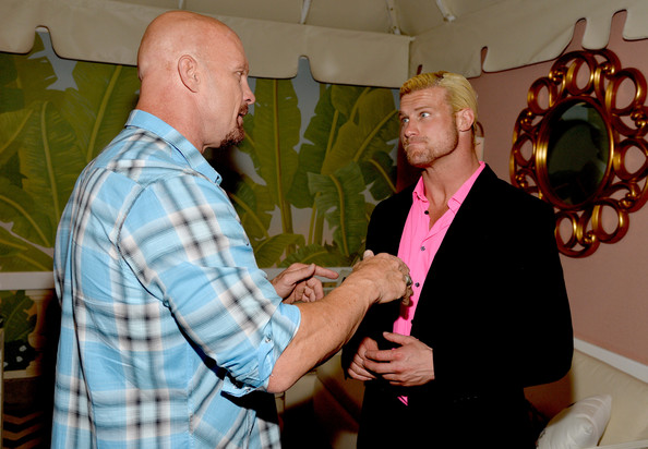 Arrivals at WWE's 'Superstars for Hope' Event — Part 2 [event,design,party,ceremony,steve austin,dolph ziggler,actor,superstars for hope,the beverly hills hotel,california,wwe,e entertainment,l,event]