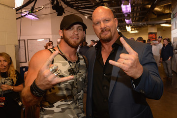 Steve Austin 2014 CMT Music Awards - Backstage & Audience