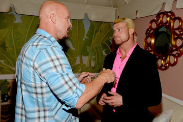 Steve Austin Arrivals at WWE's 'Superstars for Hope' Event — Part 2