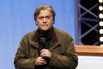 Steve Bannon National Congress Of The Front National - Day One