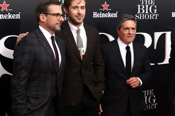 Steve Carell Ryan Gosling 'The Big Short' New York Premiere - Outside Arrivals