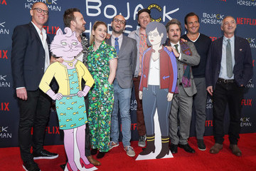 "Steve Cohen Mike Hollingsworth Premiere Of Netflix's ""Bojack Horseman"" Season 6 - Arrivals"