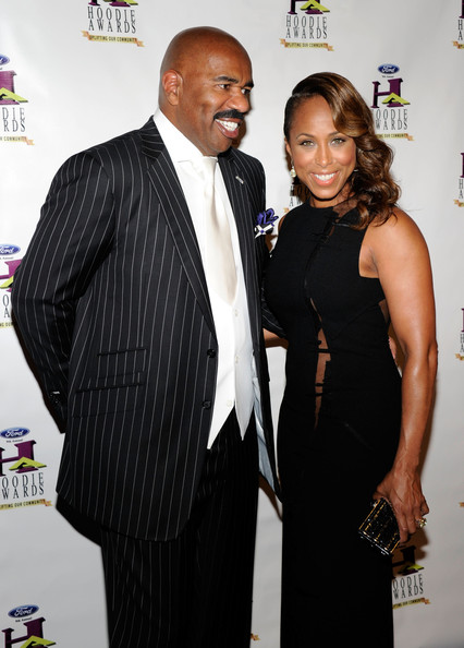 Steve Harvey's Wife Marjorie Dress