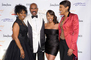 (L-R) Paulette Washington, host Steve Harvey, Marjorie Harvey and Robin Roberts attend the New York Gala benefiting The Steve Harvey Foundation at Cipriani, Wall Street on May 3, 2010 in New York City.
