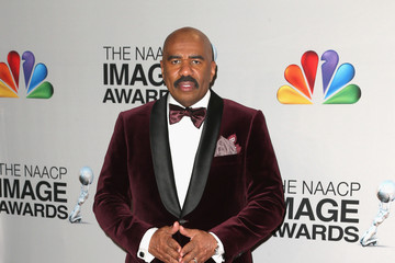 Steve Harvey 44th NAACP Image Awards - Press Room