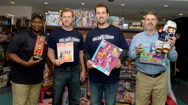 New England Patriots Deliver Toys To Boston Children's Hospital