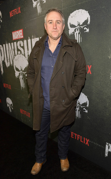 Marvel's 'The Punisher' Los Angeles Premiere - Red Carpet [the punisher,premiere,outerwear,flooring,jacket,event,carpet,performance,fictional character,steve lightfoot,los angeles,arclight hollywood,california,marvel,red carpet,los angeles premiere]