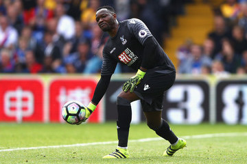 Steve Mandanda Crystal Palace v Stoke City - Premier League