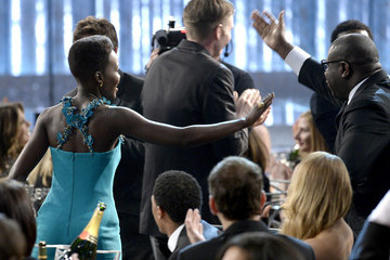 Steve McQueen Lupita Nyong'o 20th Annual Screen Actors Guild Awards Show