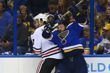 Steve Ott Chicago Blackhawks v St Louis Blues - Game Five