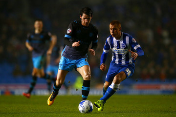 Steve Sidwell Kieran Lee Brighton and Hove Albion v Sheffield Wednesday - Sky Bet Championship