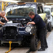 Steve Wilson London Black Cab Production Resumes in Coventry