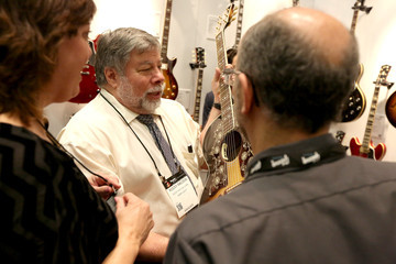 Steve Wozniak 2015 NAMM Show - Day 3