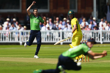 Steven Finn Middlesex vs. Australia - Tour Match