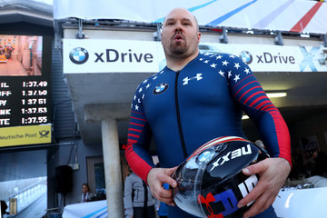 Steven Holcomb BMW IBSF World Cup Koenigssee - Day 3