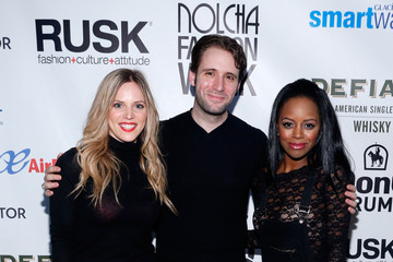 Steven Jamail Katie Rose Clarke Arrivals at the Rusk Show