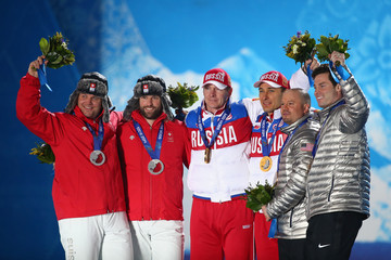 Steven Langton Winter Olympics: Medal Ceremonies