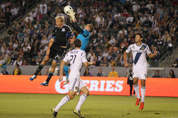 Steven Lenhart San Jose Earthquakes v Los Angeles Galaxy - Western Conference Semifinals