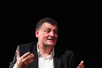 Steven Moffat Episode Three Preview Screening of 'Sherlock'- Photocall