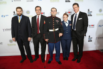 Steven Schulz Stars at the Stand Up for Heroes Event