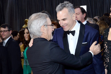 Steven Spielberg Daniel Day-Lewis Red Carpet Arrivals at the Oscars