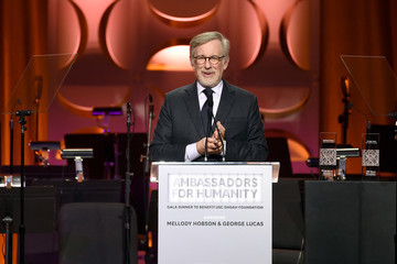 Steven Spielberg Ambassadors For Humanity Gala Benefiting USC Shoah Foundation