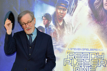 "Steven Spielberg Premiere Of Warner Bros. Pictures' ""Ready Player One"" - Arrivals"