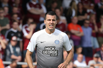 Steven Taylor Northampton Town v Peterborough United - Sky Bet League One