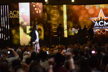 Steven Tyler 50th Academy Of Country Music Awards - Show