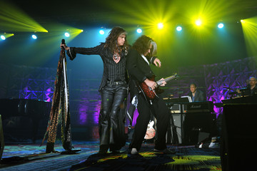 Steven Tyler Joe Perry Songwriters Hall of Fame 44th Annual Induction and Awards