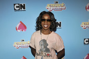 Estelle attends 'Steven Universe: The Movie' Screening at The Theatre at Ace Hotel on August 26, 2019 in Los Angeles, California.