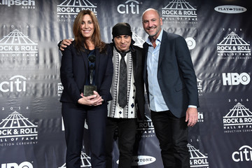 Steven Van Zandt 31st Annual Rock and Roll Hall of Fame Induction Ceremony - Press Room