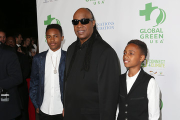Stevie Wonder Global Green USA's 13th Annual Pre-Oscar Party - Arrivals