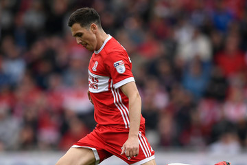 Stewart Downing Middlesbrough vs. Aston Villa - Sky Bet Championship Play Off Semi Final: First Leg