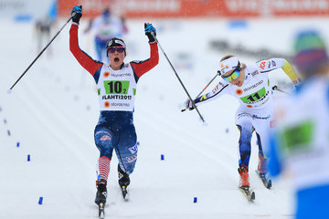 Stina Nilsson Men's and Women's Cross Country Team Sprint - FIS Nordic World Ski Championships