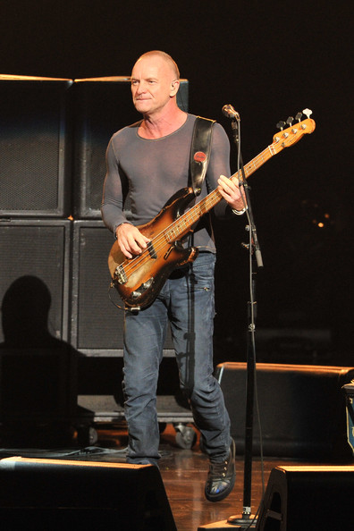 sting 39 s back to bass tour opening night zimbio. Black Bedroom Furniture Sets. Home Design Ideas