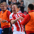 Peter Crouch Peter Odemwingie Photos