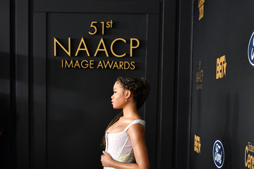 Storm Reid BET Presents The 51st NAACP Image Awards - Red Carpet