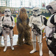 Storm Trooper Minnesota Twins v Houston Astros