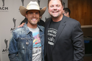 Storme Warren Dustin Lynch 12th Annual ACM Honors - Backstage And Audience