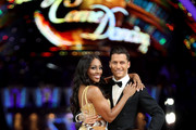 Alexandra Burke (L) and Gorka Marquez attend the 'Strictly Come Dancing' Live! photocall at Arena Birmingham, on January 18, 2018 in Birmingham, England. Ahead of the opening on 19th January 2018. The live show will be touring the United Kingdom until 11th February 2018.