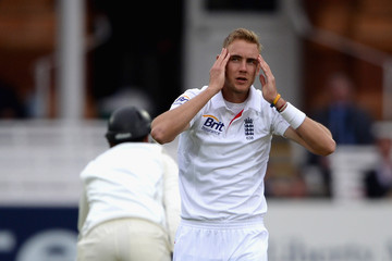 Stuart Broad England v New Zealand