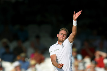 Stuart Broad England v India: 2nd Investec Test