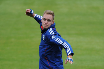 Stuart Broad England Nets Session