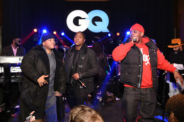 Styles P Sheek Louch GQ and LeBron James Celebrate All-Star Style - Inside